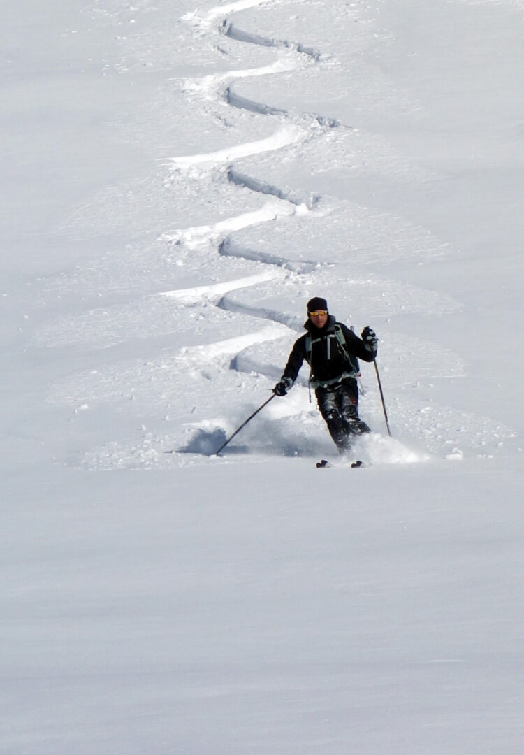 ski de rando pour tous à Réallon