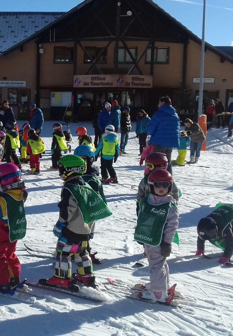 ski enfants Réallon