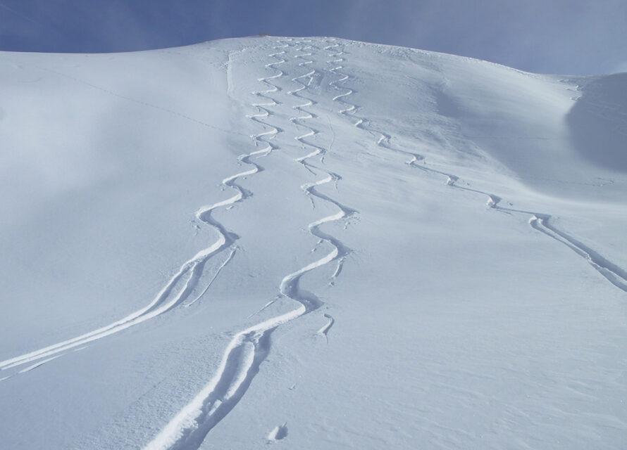 Ski de randonnée à Réallon
