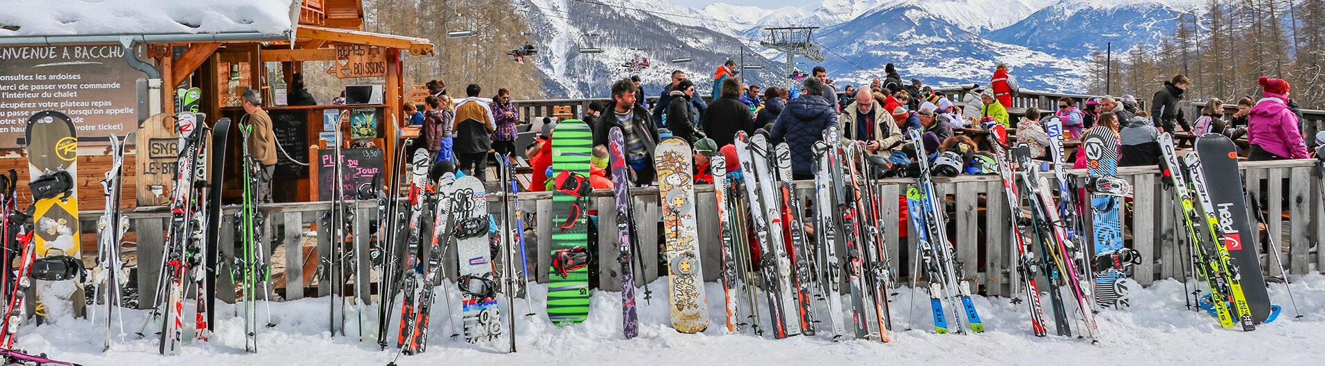 Location de matériel station de Réallon ski VTT