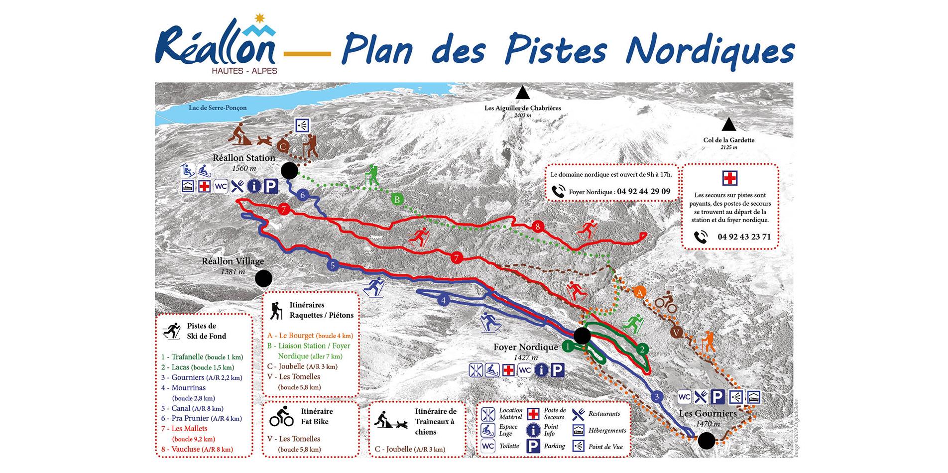 plan nordique Réallon